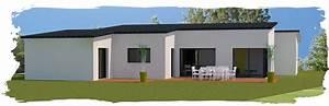 Maison contemporaine Toits Bac acier entre La Roche Sur Yon et le littoral vendéen réf1296 O