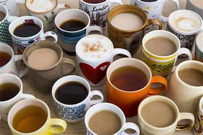 Coffee Tea Cups Drinks Chocolate Drink Many