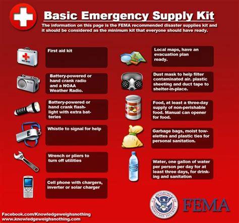 disaster survival kit city  tampa
