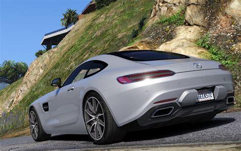 Marcedes Benz Amg : 2016 Mercedes-benz Amg Gt [add-on]