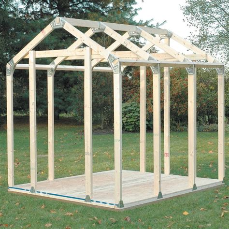 2x4 basics diy shed kit peak roof style chkadels com survival cing gear