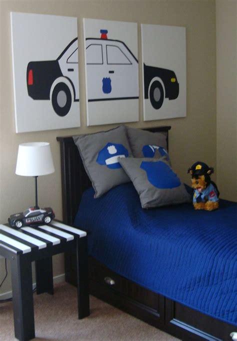 kids police bedroom images  pinterest kids