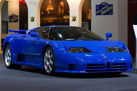 Bugatti EB110 SS - Chassis: 39012 - Entrant: Bugatti ...