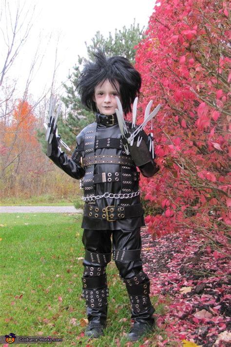 edward scissorhands creative homemade halloween costume