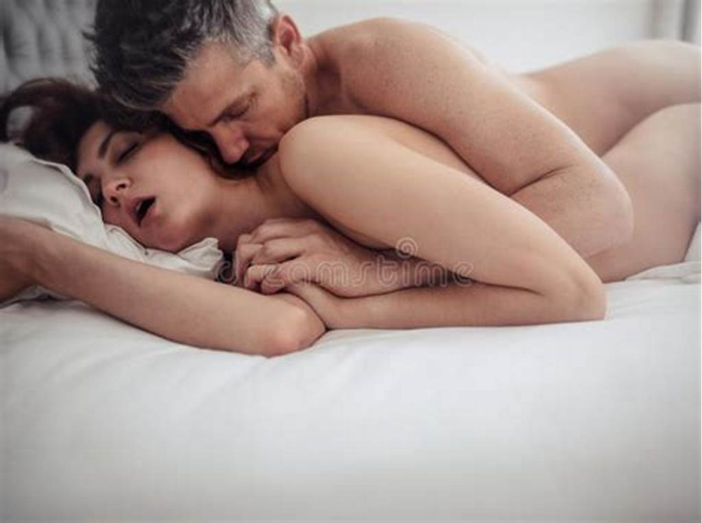 #Young #Couple #In #Bed #Having #Sex #Stock #Image