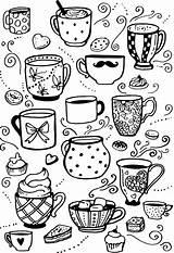 Cup Coloringnori sketch template