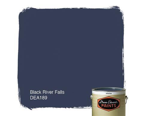dunn edwards paints paint color black river falls dea189