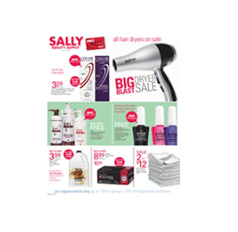 weekly ads sally beauty supply weekly ad