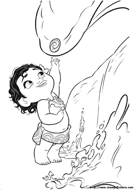 disegni da colorare oceania disegni oceania coloring pages 2 moana coloring pages