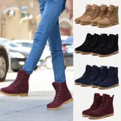 womens boots vs mens womens mens genuine leather mid calf boots boots warm winter lace up shoes ebay