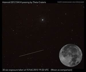 Photos and Videos of Asteroid 2012 DA14 'Running Fast ...