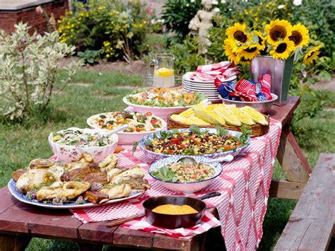 Tipps Für Das Perfekte Gartenpartybuffet  Für Sie