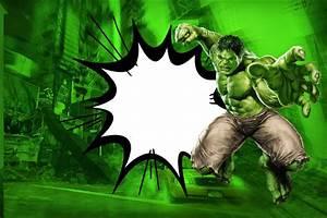 Hulk: Invitaciones para Imprimir Gratis Ideas y material gratis para fiestas y celebraciones