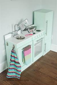 ana white modular play kitchen diy projects With kitchen colors with white cabinets with playing card stickers