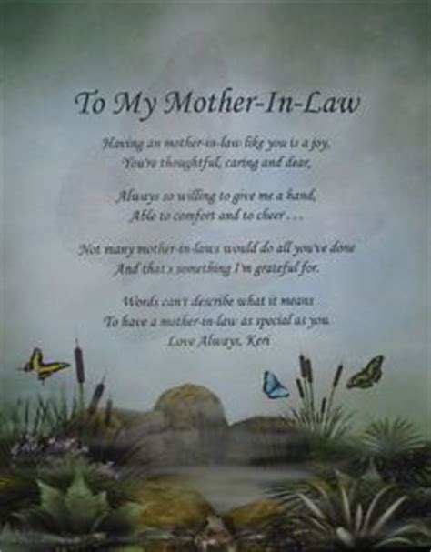 details    mother  law personalized poem