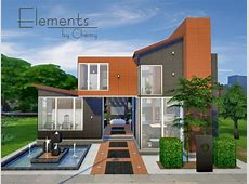 Elements house by Chemy at The Sims Resource » Sims 4 Updates