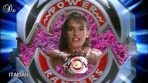 MIGHTY MORPHIN - POWER RANGERS - morphing sequence ...