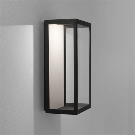 astro lighting 0931 puzzle led ip44 exterior box wall light