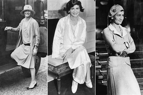 Nos Anos 20, O Estilo De Coco Chanel Revolucionou O Guarda