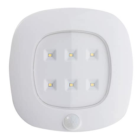 light it white motion sensor ceiling light 30028 308