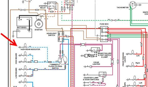 Go Light Wiring Diagram by I M Triumphant Hi Beam Indicator Light Where Does The