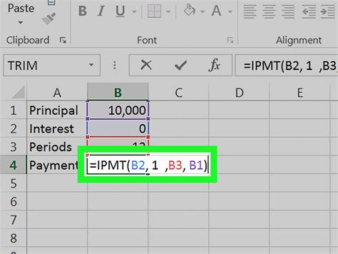 How to Calculate an Interest Payment Using Microsoft Excel