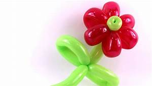 Tutoriel 14 : La fleur - Basic Balloon Flower - La flor