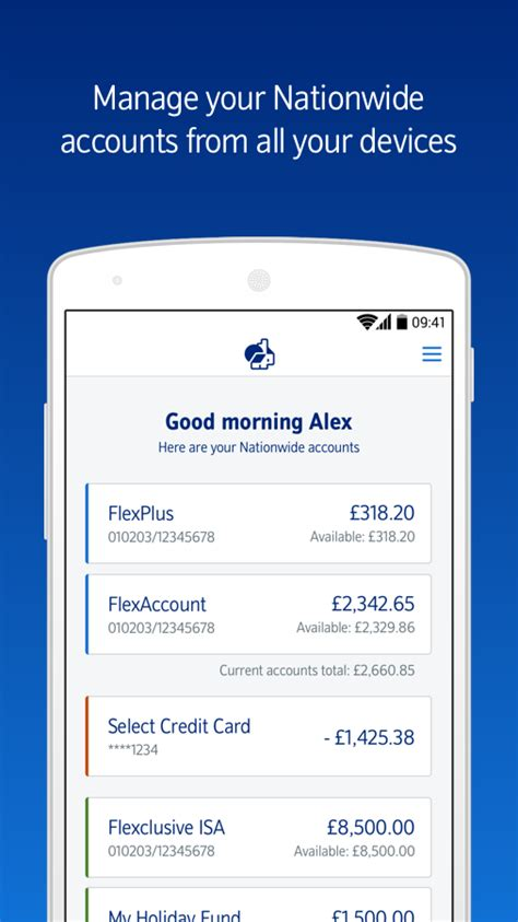 Money can be sent and received instantly through the app, according to the site. Nationwide Banking App - Android Apps on Google Play