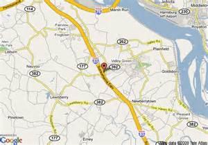 Harrisburg Pennsylvania Area Map