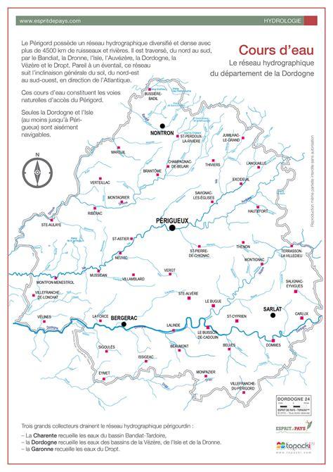 cuisine perigueux cartographie l 39 hydrographie du périgord