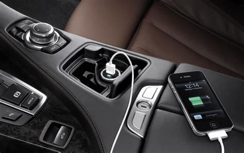 Bmw Genuine In-car Universal 2 Port Twin Dual Usb Charger
