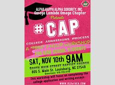#CAP College admission Process Workshop ALPHA KAPPA