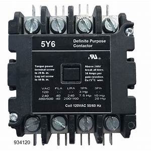 6 Pole Lighting Contactor 277v Coil