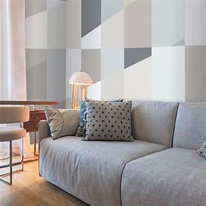 Carta Da Parati Murales : carta da parati geometrica tappezzeria dal design geometrico ~ Frokenaadalensverden.com Haus und Dekorationen