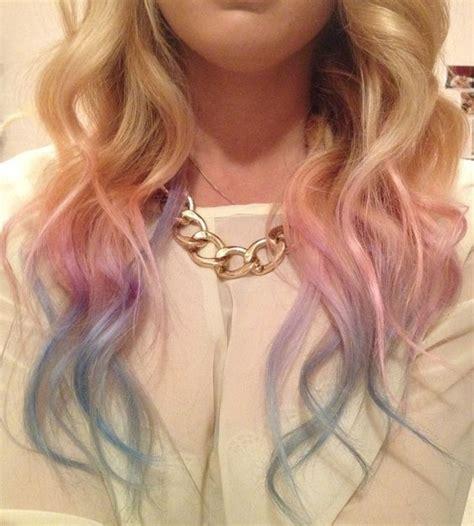 rainbow hair  crazy rainbow hair color inspirations