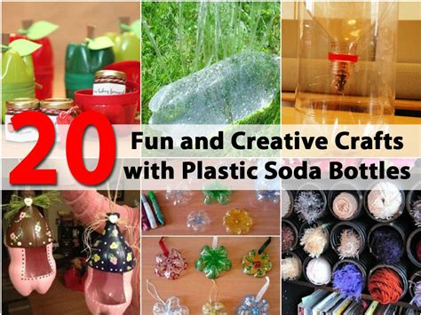 fun  creative crafts  plastic soda bottles