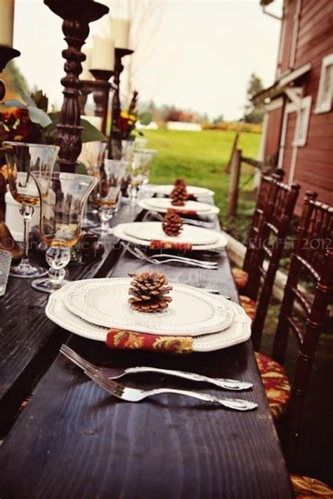 25 Beautiful Fall Wedding Table Decoration Ideas Style