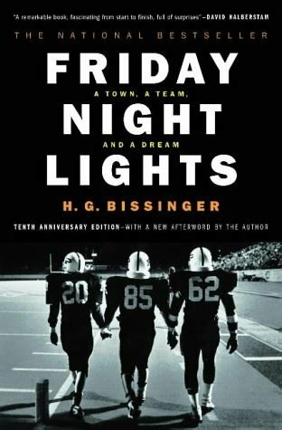 friday night lights book characters friday night lights a town a team a dream by h g bissinger