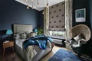 Beautiful Chambre Orientale Bleue Ideas Design Trends 2017 Shopmakers Us