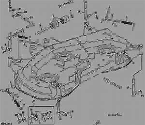 John Deere 62c Mower Deck Parts Diagram