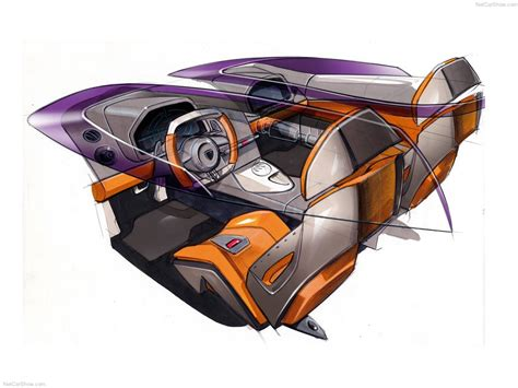 Lamborghini Concept S 2005 Supercar Sketches