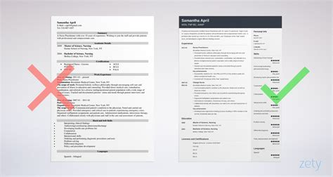 nurse practitioner resume examples template guide