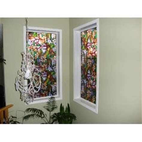 artscape magnolia decorative window window covers for you magnolia window by artscape