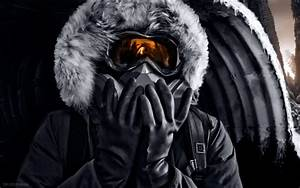 Vitaly, S, Alexius, Winter, Romantically, Apocalyptic, Gas, Masks, Wallpapers, Hd, Desktop, And, Mobile