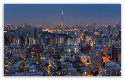 Tokyo City Sunset 4k Hd Desktop Wallpaper For 4k Ultra Hd