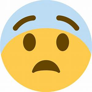 Cara Asustada Emoji