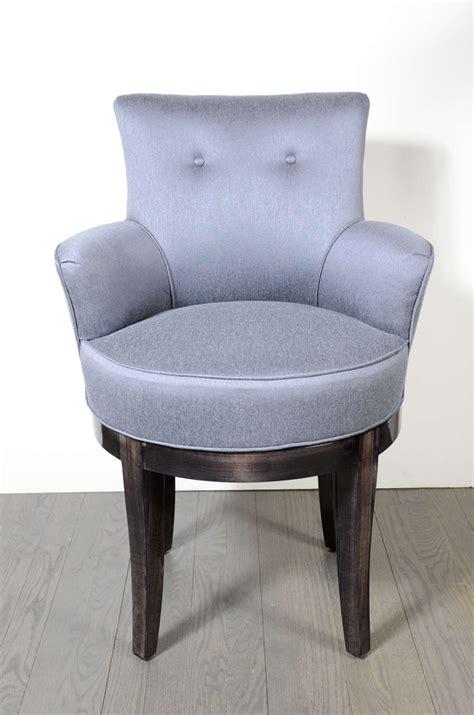 swivel chair for vanity 1940s swivel vanity stool chair at 1stdibs