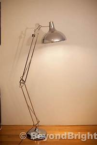 large designer pixar floor lamp light 19m chrome modern With large pixar floor lamp