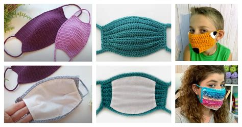 face mask  crochet pattern