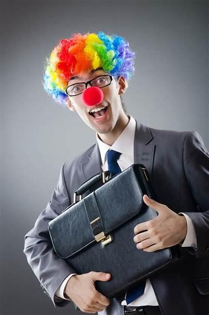 Fun Clown Workplace Funny Humor Bus Humour